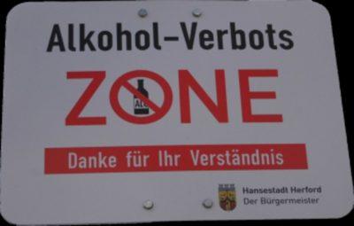 Alkoholverbot in Herford