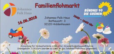 Familienflohmarkt Hiddenhausen 2018