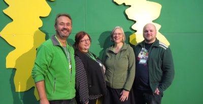Jörg Prätorius, Irmgard Pehle, Angelika Fleischer, Maik Babenhauserheide BDK in Leipzig
