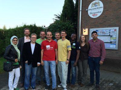 Treffen der Integrationsratskandidatinnen