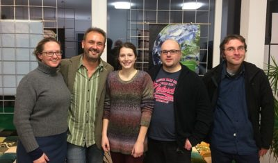 Stephanie Brink, Jörg Prätorius, Anika Hüting, Maik Babenhauserheide und Stefan Galle