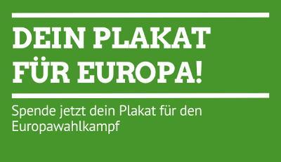 Dein Plakat für Europa