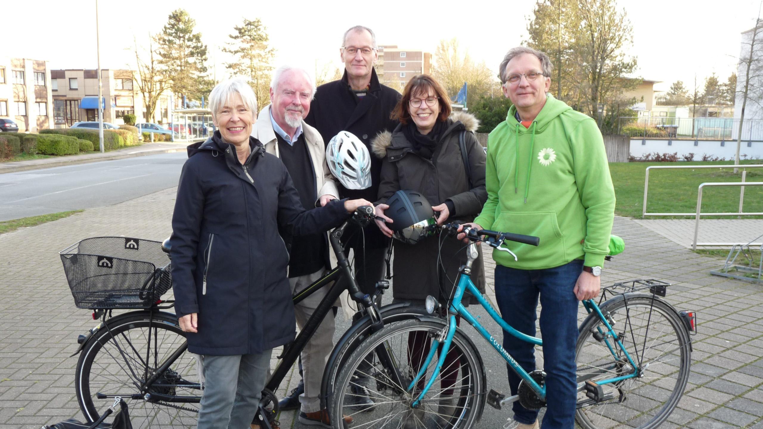 Grüne stellen Antrag im Kreistag zum interkommunalen Radweg Bünde-Hiddenhausen-Herford