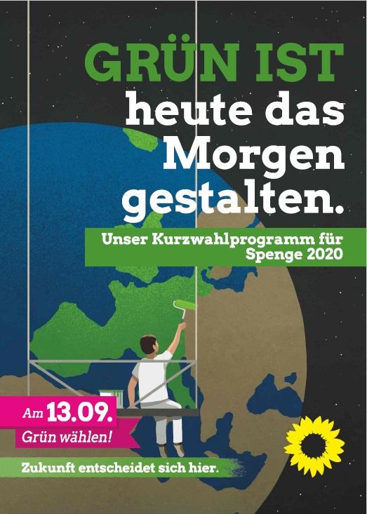 Wahlprogramm von Bündnis ´90/die Grünen OV Spenge