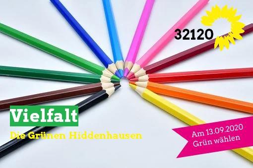 32120 Grün bedeutet: Vielfalt!