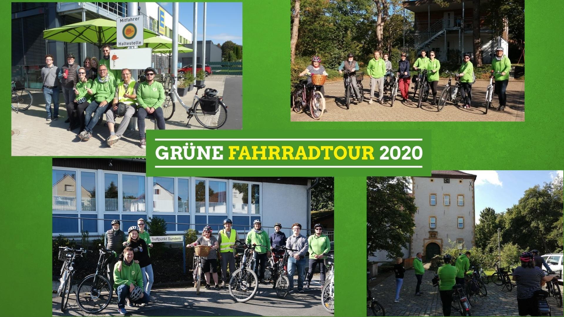 Grüne Fahrradtour 2020