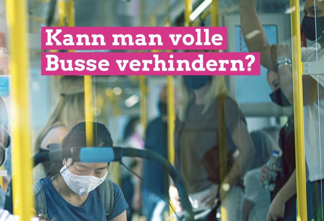 """GRÜNE wollen Entlastung des Busverkehrs durch gestaffelte Schulanfangszeiten prüfen lassen/""""Alles tun, um die Ansteckungsgefahren zu verringern"""""""