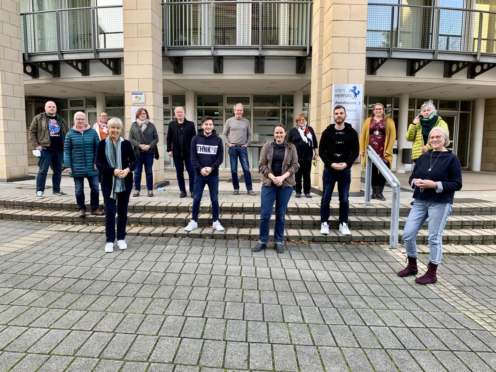 Kreistagsfraktion von BÜNDNIS 90/DIE GRÜNEN im Kreis Herford hat sich konstituiert