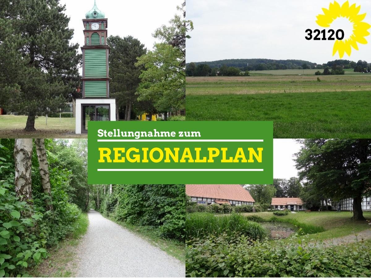 Stellungnahme zum Regionalplan