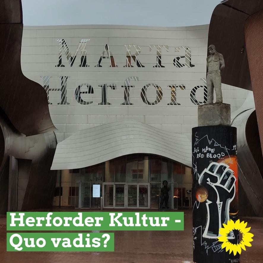 GRÜNE fordern stärkeres Gewicht des Herforder Kulturbeirates/Kunst im Öffentlichen Raum Gegenstand der nächsten Beiratssitzung